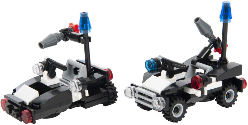 SWAT Team Series Anti-terrorism all-terrain vehicle and Assault boat
