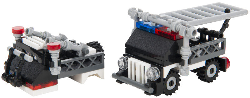 SWAT Team Series Assault vehicle and Special police explosion-proof ship