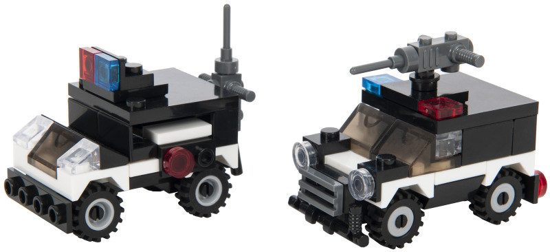 SWAT Team Series Regimental policecar & assault vehicle