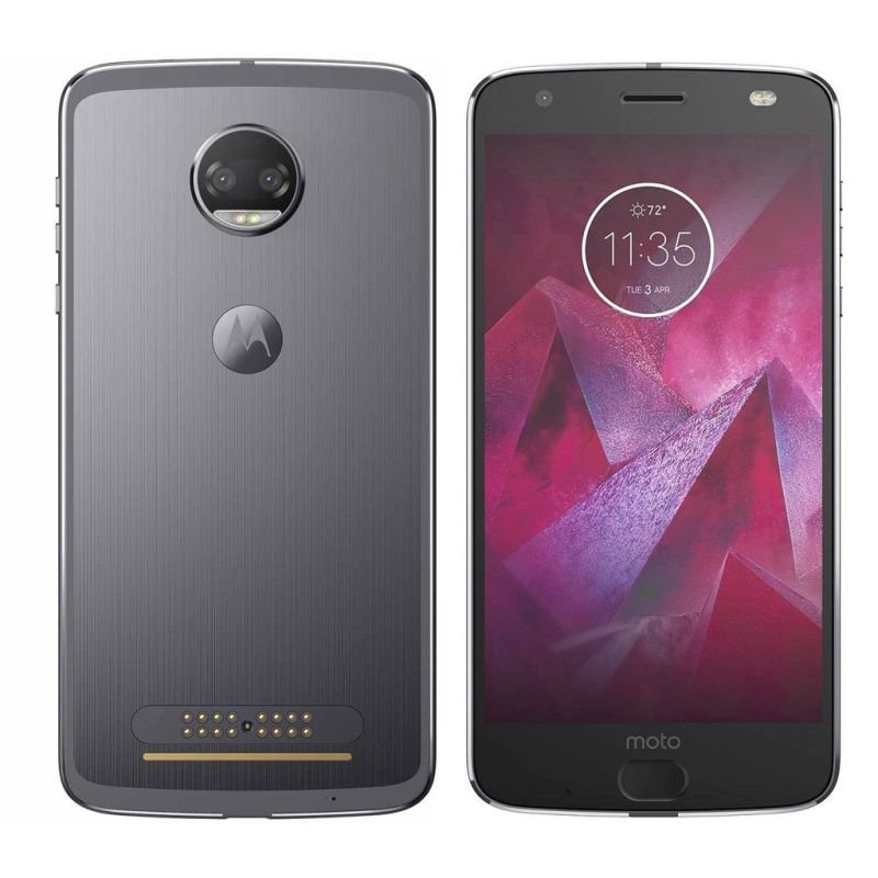 "Motorola Moto Z2 Force Black 5.5"" 64GB  4G LTE Smart Phone - Super Black - Unlocked SIM Free"