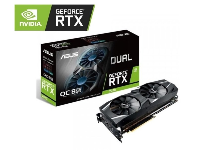 Asus DUAL GeForce RTX 2070 8GB OC Graphics Card