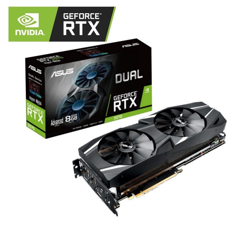 Asus GeForce RTX 2070 DUAL Advanced Edition 8GB Graphics Card