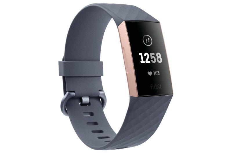 Fitbit Charge 3 Advanced Health Amp Fitness Tracker Rose