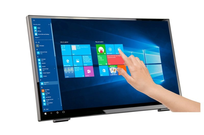 "HANNspree HT248PPB 23.8"" Full HD Touch Monitor"