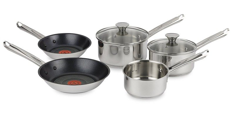 Tefal Elementary 5 Piece Set - Induction safe