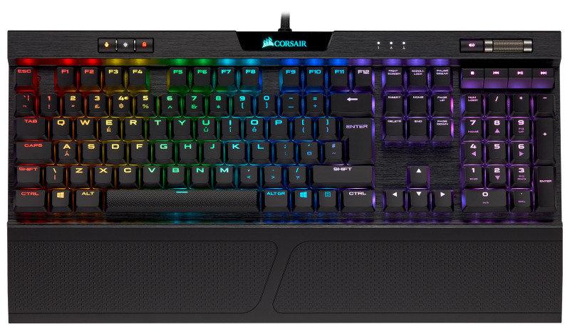 Corsair K70 RGB MK.2 Low Profile Gaming Keyboard