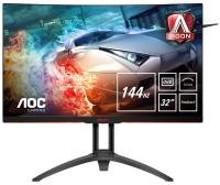 "AOC Agon AG322QC4 31.5"" QHD Freesync 144HZ Curved Gaming Monitor"