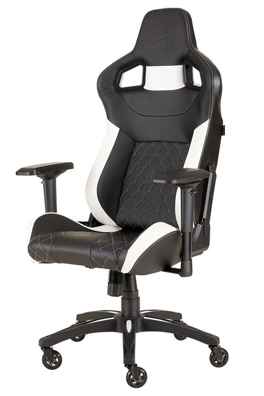 Corsair T1 Race 2018 Black/White Gaming Chair