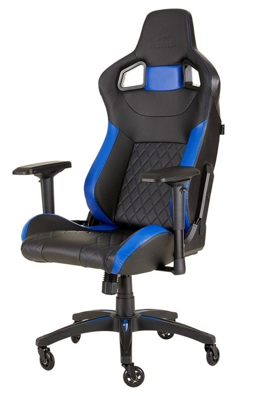 Corsair T1 Race 2018 Black/Blue Gaming Chair