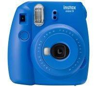 Fujifilm Instax Mini 9 Cobalt Blue Instant Camera inc 10 Shots