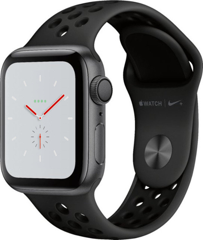 Buy Brand New Apple Watch Nike+ Series 4 (GPS), 40mm Space Grey Aluminium Case with Anthracite/Black Nike Sport Band