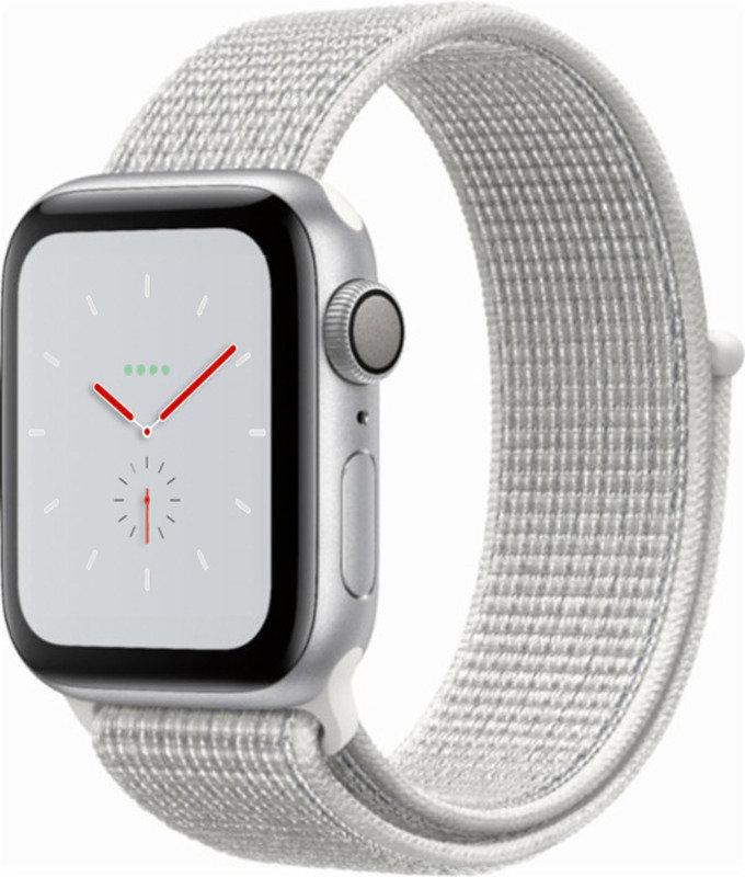 Apple Watch Nike+ Series 4 (GPS), 40mm Silver Aluminium...