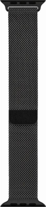 Image of 44mm Space Black Milanese Loop
