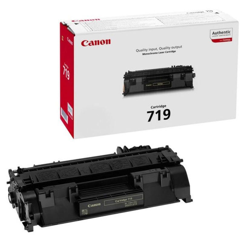 Canon 719 Black Toner Cartridge