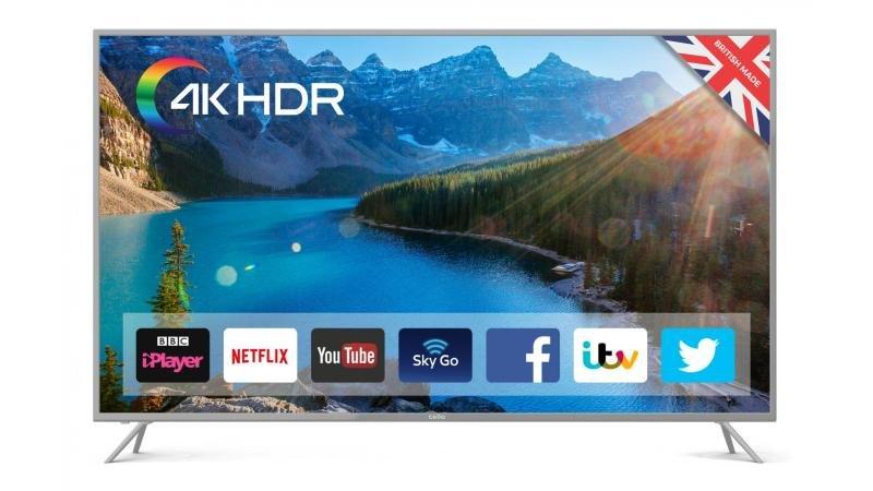 """Cello C65SFS4K 65"""" Smart 4K HDR LED TV"""