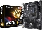 Gigabyte A320M-H AM4 Socket DDR4 mATX Motherboard