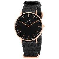 Daniel Wellington Classic Unisex Quartz Watch - Black