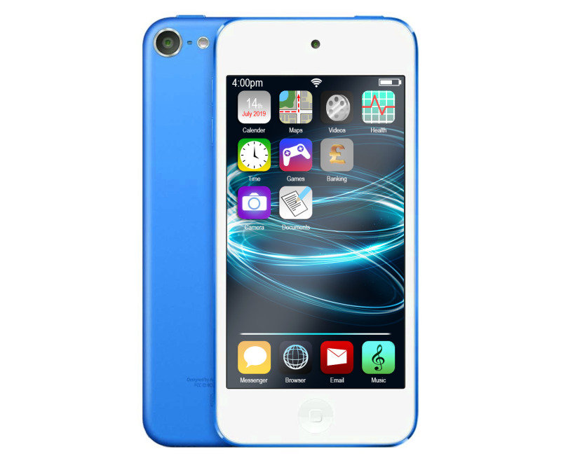 Apple iPod Touch - 128GB - Blue - 6th Generation cheapest retail price