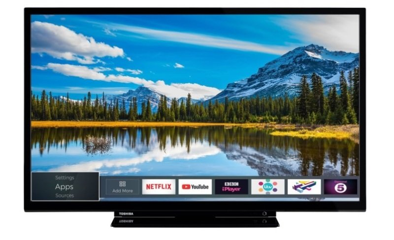 "Toshiba 32W2863DB 32"" 720p HD Ready LED Smart TV"
