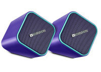 Canyon USB Purple Wired Computer 2.0 Speakers