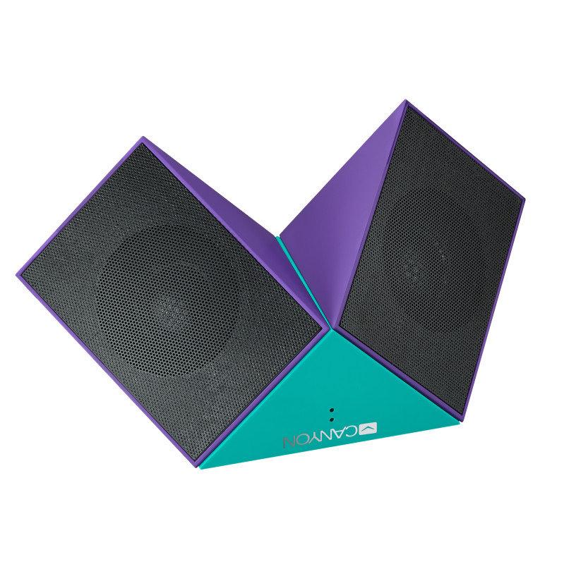 Canyon Purple/Blue Transformer Bluetooth Speakers