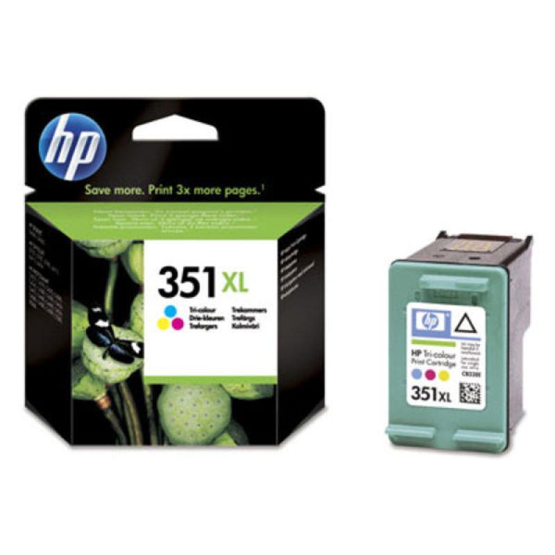 HP 351XL Colour Print cartridge  CB338EE
