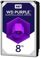 WD 8 TB Surveillance Hard Drive - Purple