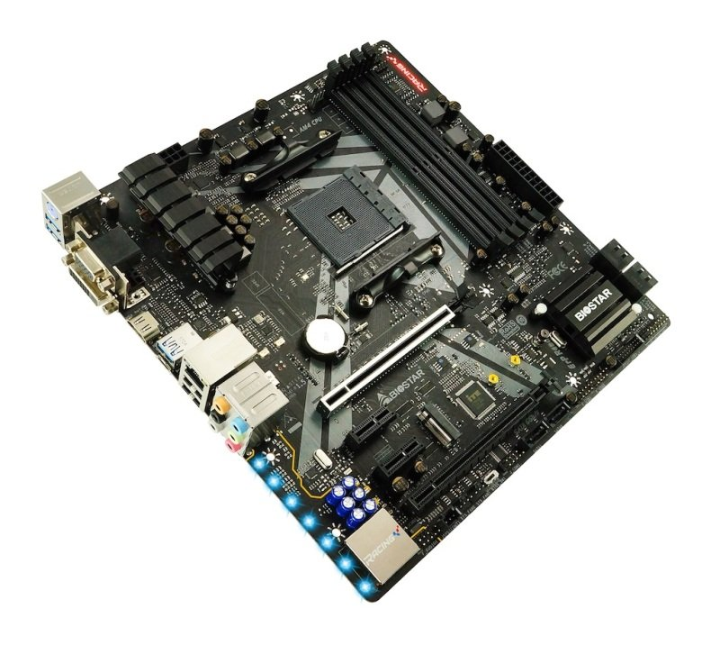 BioStar B450GT3 AM4 DDR4 mATX Motherboard