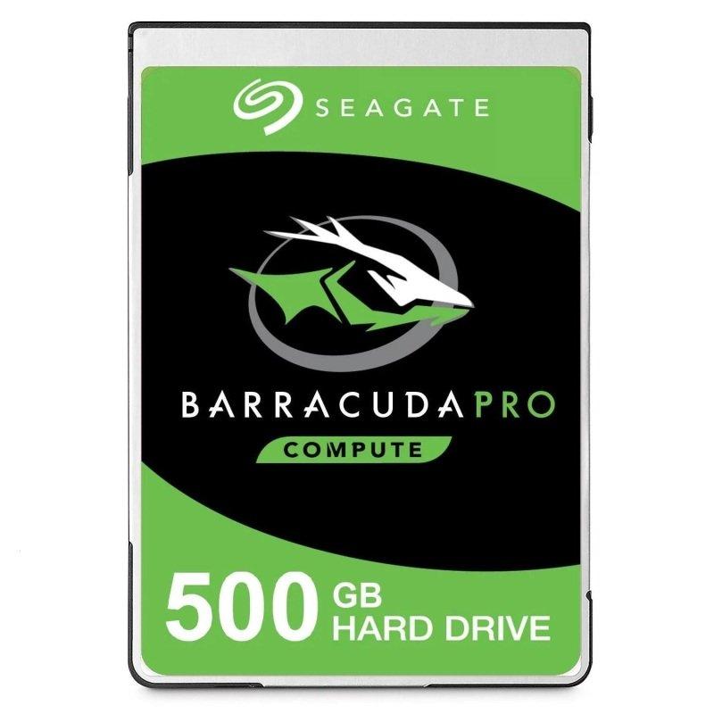 "Seagate BarraCuda Pro 500GB Laptop Hard Drive 2.5"" 7mm SATA III 6GB's 7200RPM 128MB Cache"