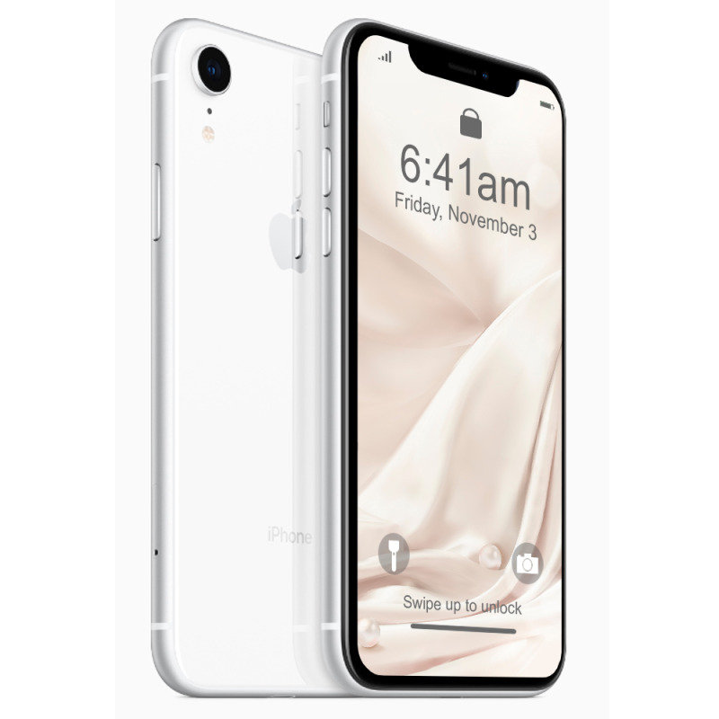 "iPhone XR 6.1"" 256GB 4G Smartphone SIM Free & Unlocked - White"