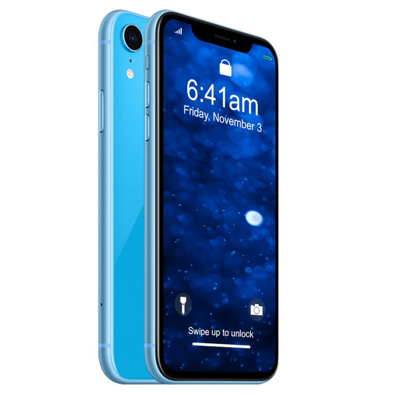 "iPhone XR 6.1"" 256GB 4G Smartphone SIM Free & Unlocked - Blue..."