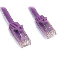 StarTech.com Snagless Cat6 UTP Patch Cable 7.6m Purple