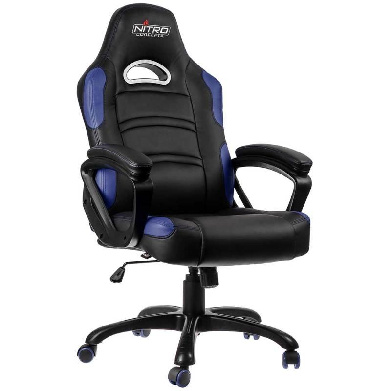 Nitro Concepts C80 Comfort Series Gaming Chair - Black/Blue