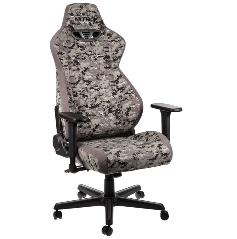 Nitro Concepts S300 Fabric Gaming Chair - Urban Camo