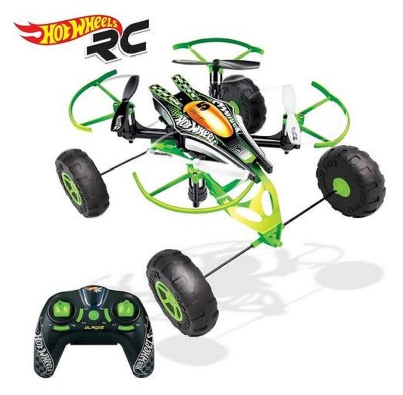 Hot Wheels DRX Monster X-Terrain Drone - 3 in 1