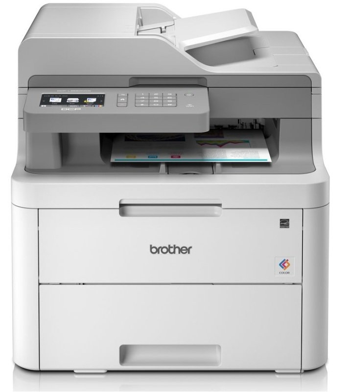 Image of Brother DCP-L3550CDW A4 Colour Multifunction LED Laser Printer