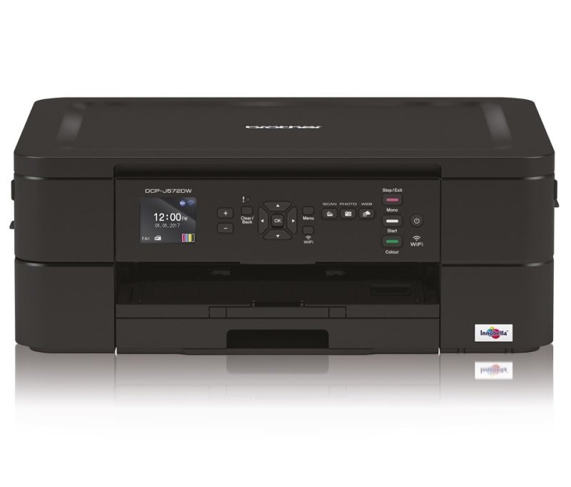 Image of Brother DCP-J572DW A4 Colour Multifunction Inkjet Printer