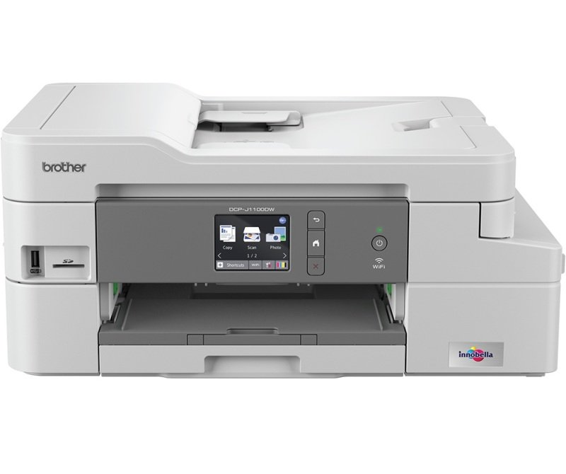 Image of Brother DCP-J1100DW (All-in-Box) A4 Colour Multifunction Inkjet printer