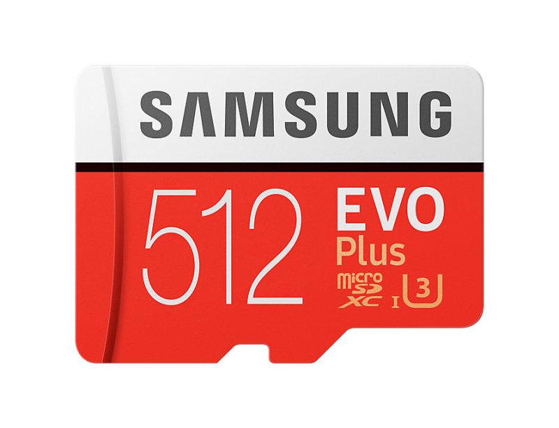 Samsung EVO Plus 512GB MicroSDXC with SD Adapter