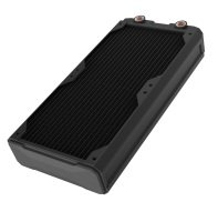 Black Ice Nemesis 280 GTR Radiator - Black
