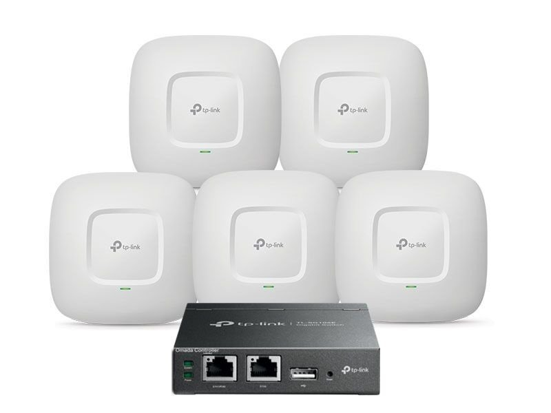 TP-Link EAP245 Radio Access Points With OC200 Omada Cloud Controller