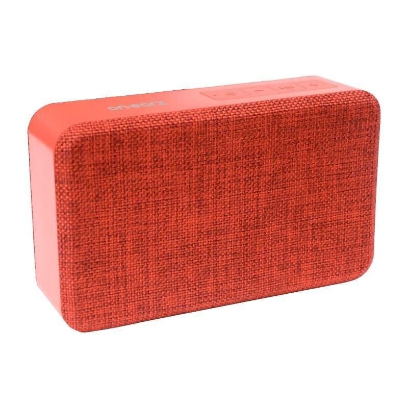 On Earz P211 Wireless Bluetooth Red Speaker