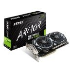EXDISPLAY MSI GTX 1080 Ti ARMOR 11GB OC Graphics Card