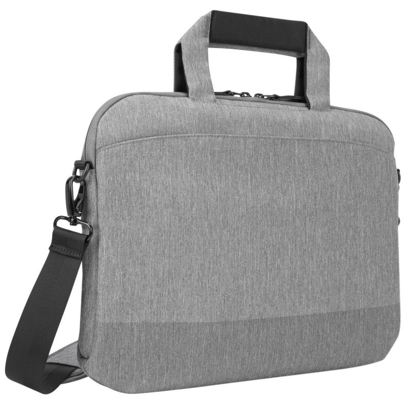 Image of Targus CityLite Laptop case shoulder bag best for work, commute or university, fits laptops up to 14