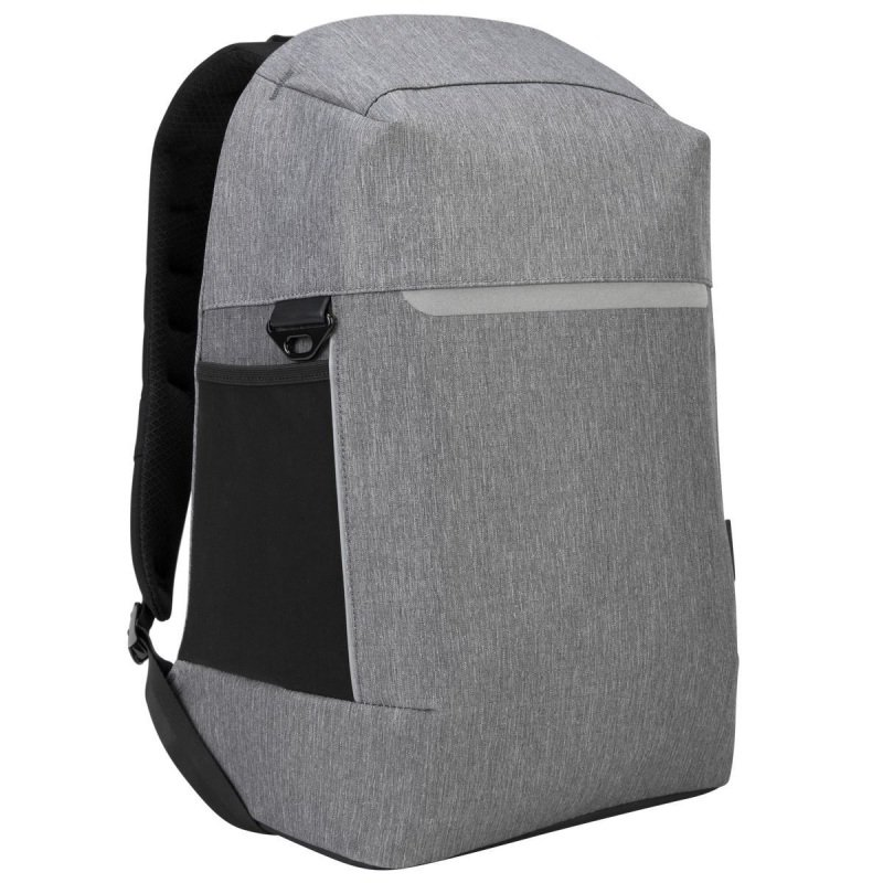 """Image of Targus CityLite Security Backpack best for work, commute or university, fits up to 15.6"""" Laptop - Grey"""