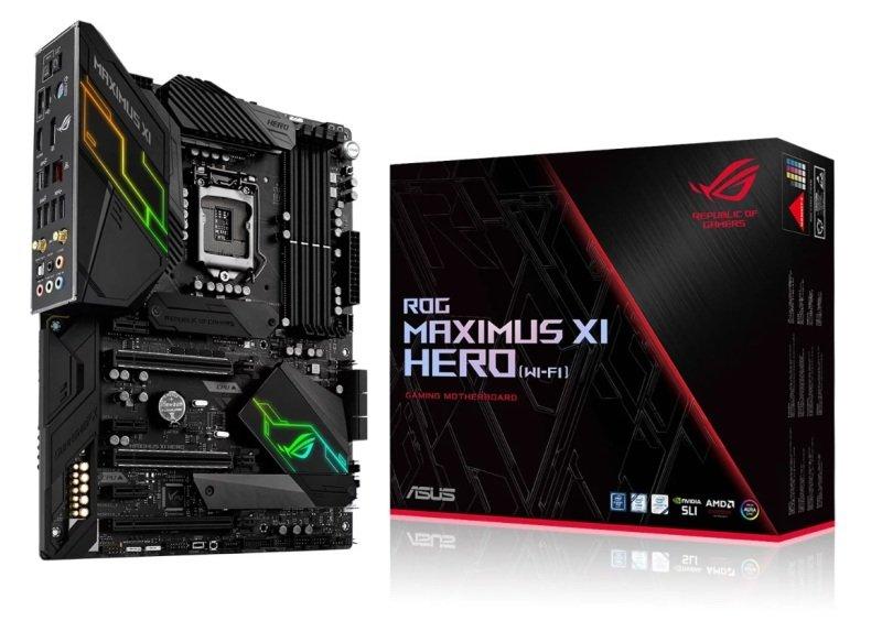 Asus Z390 ROG MAXIMUS XI HERO (WI-FI) LGA 1151 DDR4 ATX Motherboard