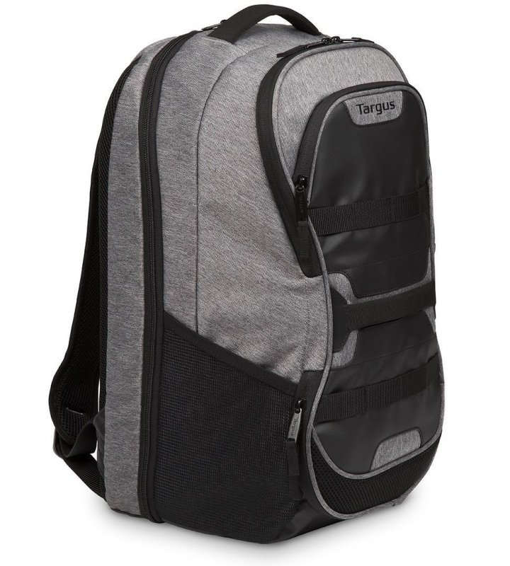 "Image of Targus Work + Play Fitness 15.6"" Laptop Backpack - Grey"