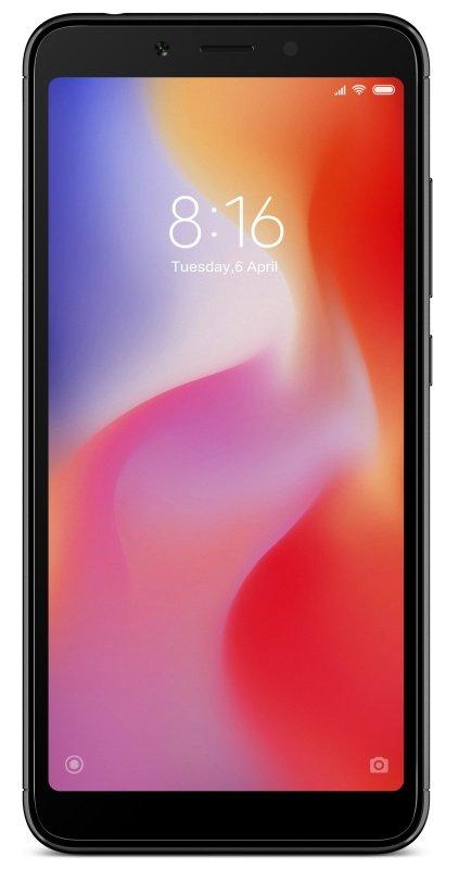 "Xiaomi Redmi 6 5.45"" 3GB 32GB 4G Dual Sim Smartphone - Black"