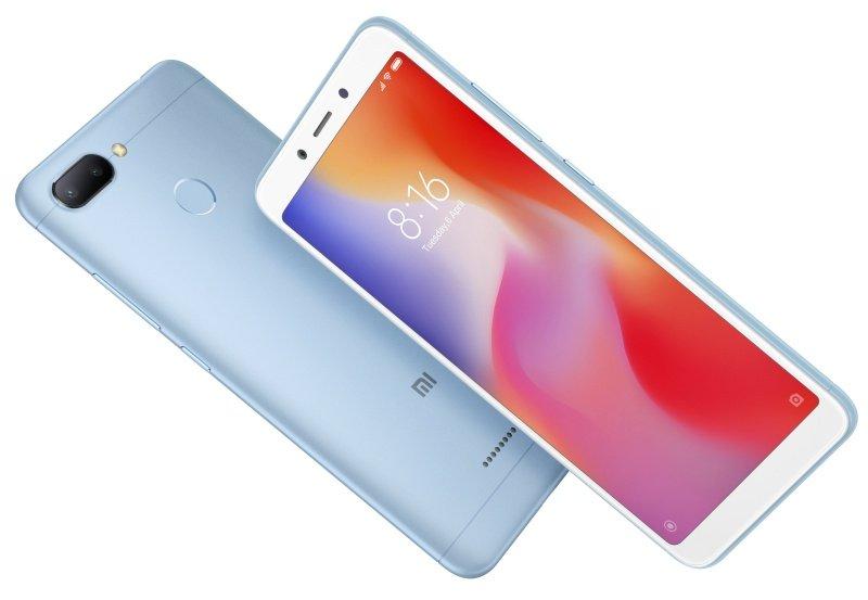 """Xiaomi Redmi 6 5.45"""" 3GB 32GB 4G Dual Sim Smartphone - Blue..."""