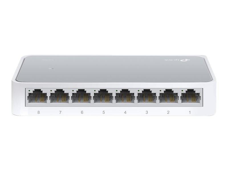 TP-Link TL-SF1008D V12 8 Ports Unmanaged Desktop Switch